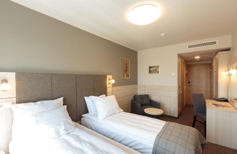 Standard Double Room Wellton Hotel Riga Spa Modern